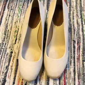 NEW UNWORN Jcrew espadrille wedge